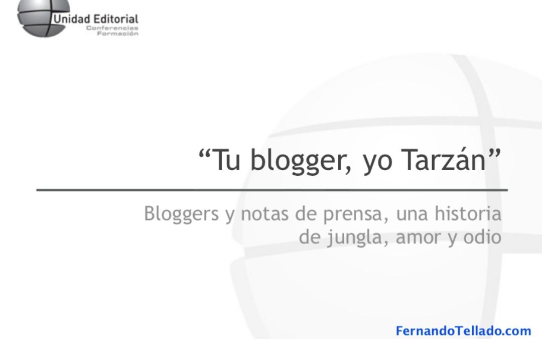 Sala de Prensa 2.0: Bloggers y notas de prensa