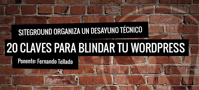 20 claves para blindar WordPress