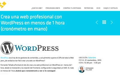 Crea una web profesional con WordPress en menos de 1 hora